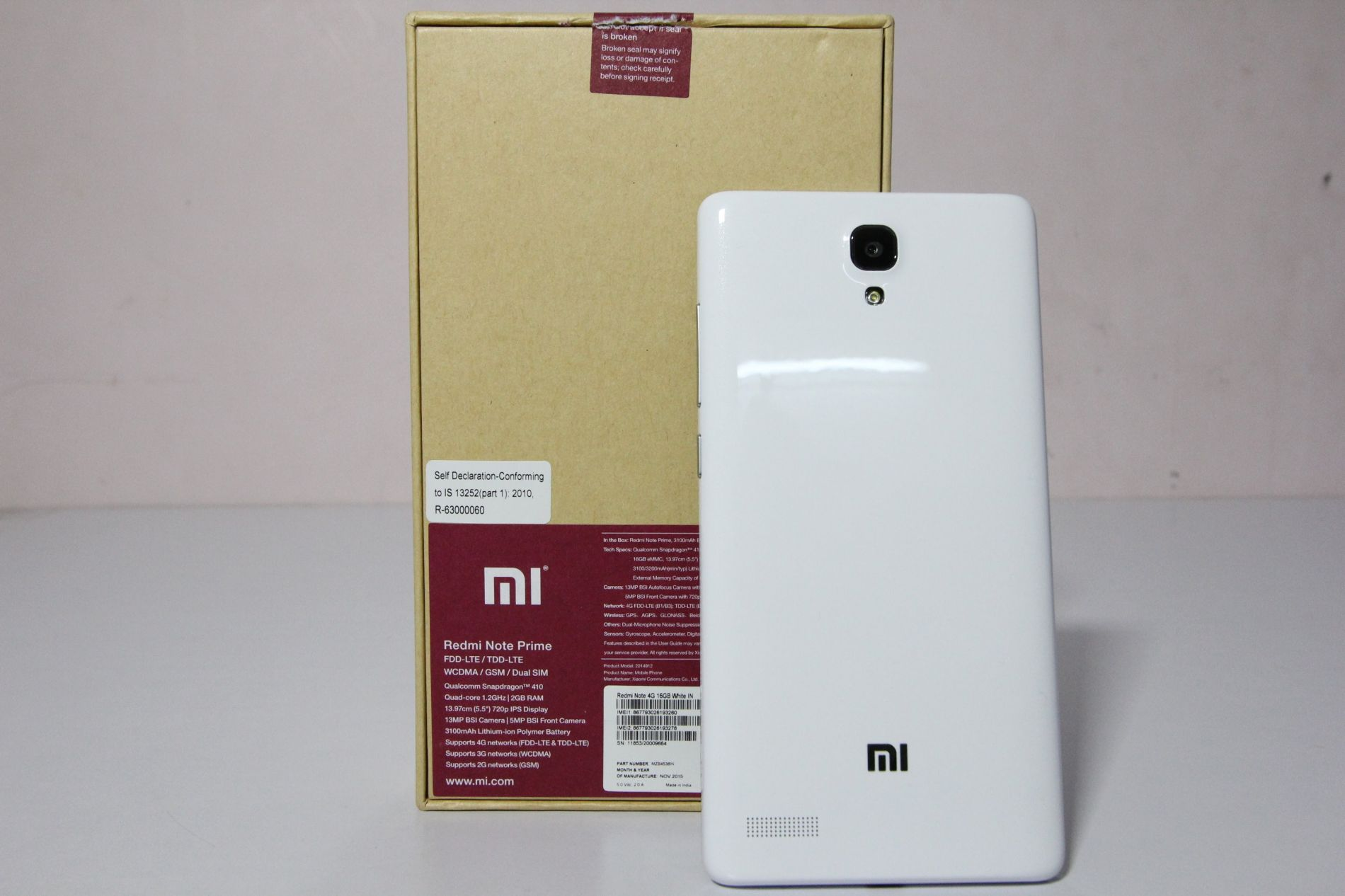 Xiaomi Redmi Note 4g Full Specifications With Price In Bangladesh 3g White Prime